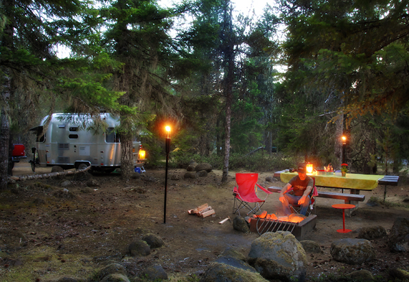 Small Airstream Trailer >> McNeil Campground & Ramona Falls Hike   The (not so) Small Small Trailer