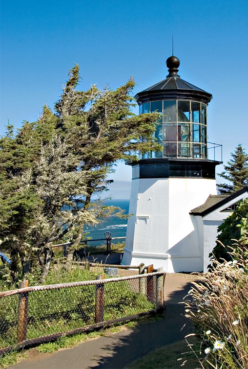 Cape Mears Lighthouse just a short drive from Oceanside.