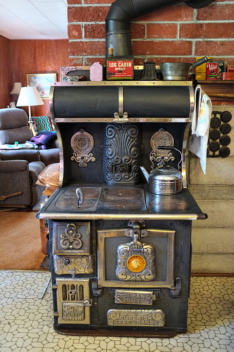 Original old stove