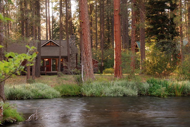 1940s cabin along the Metolius