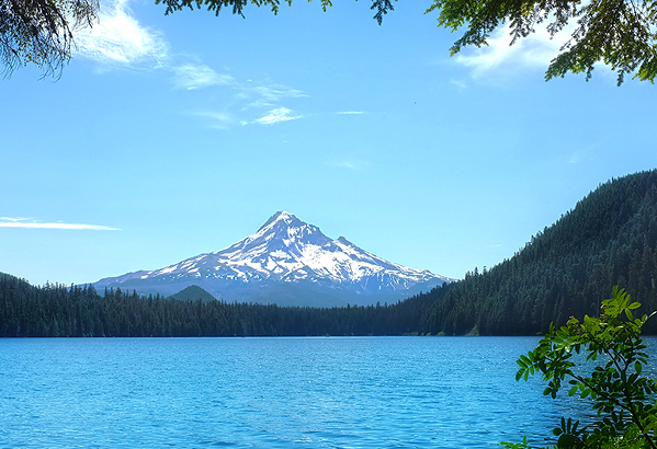 Lost Lake and view of Mt. Hood