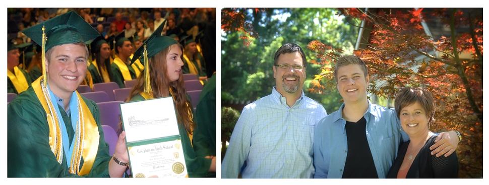 Graduation Day & Proud Parents
