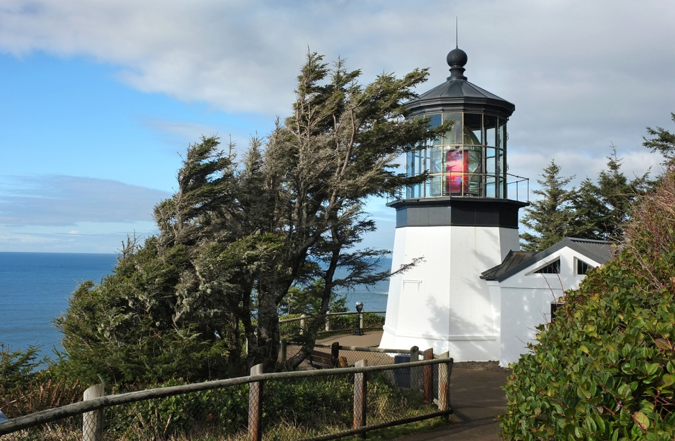 Cape Lookout light house is just a short drive from the campground.