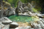 One of the many pools at the park…you can see why it's a popular swimming hole!
