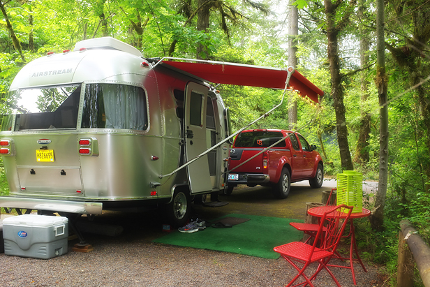 Return to our base camp at Fisherman's Bend. Even on a busy Memorial Day weekend when the place was filled to capacity…look how private it is!
