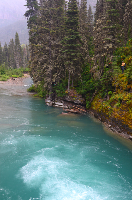 Always amazed at the beauty of glacial water...