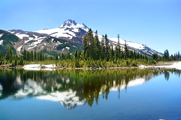 Mt. Jefferson reflection