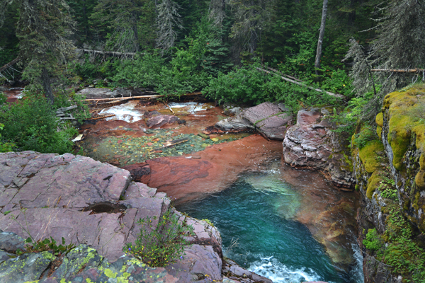 Beautiful rock pools