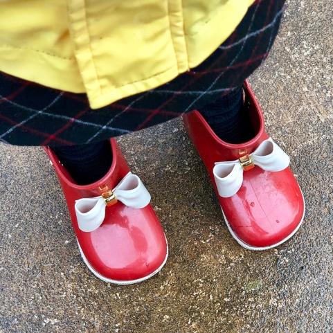 Rain boots at the ready!