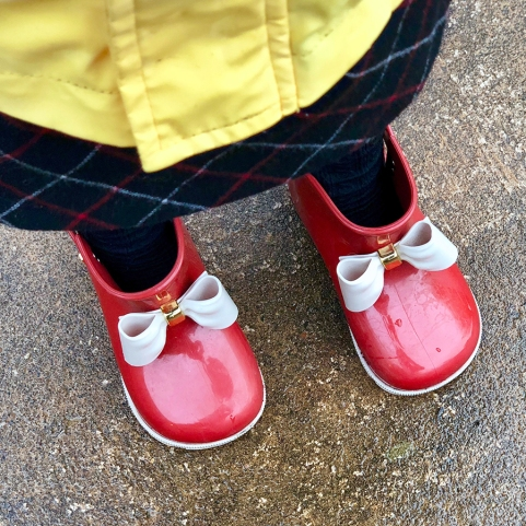 Rain boots at the ready!